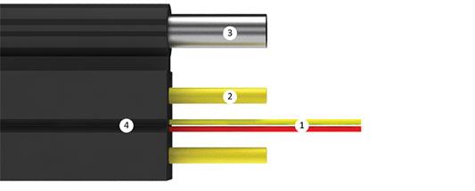 Оптический кабель Инкаб Дроп-«бабочка»/ОВП-2А-М