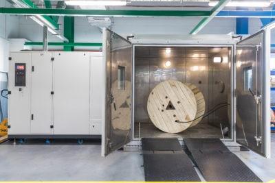 Климатическая камера для испытания оптических кабелей