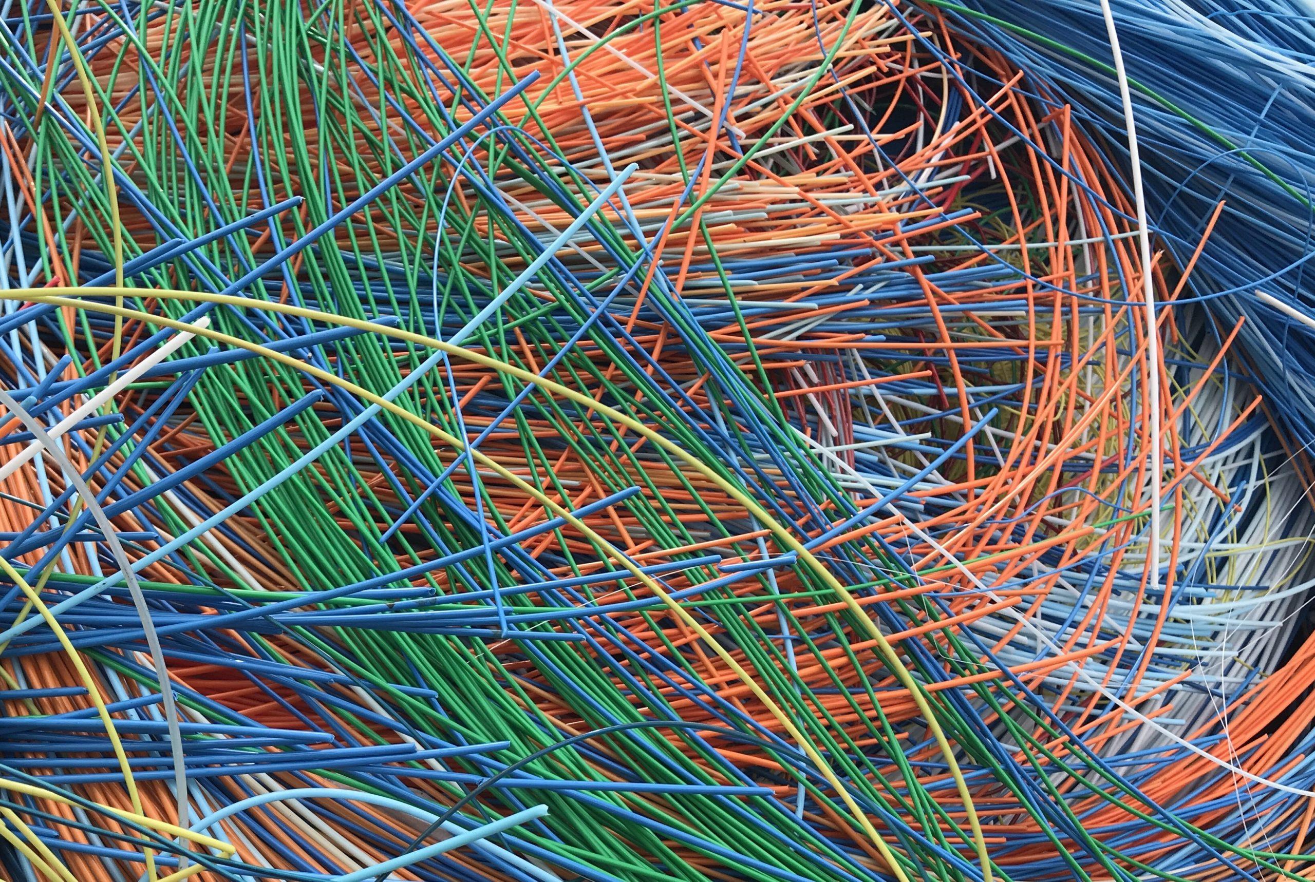 Оптический кабель - оптическое волокно, буферное покрытие